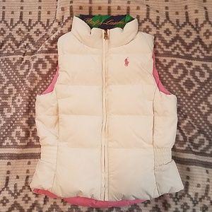 Ralph Lauren Reversible Vest 3/3t